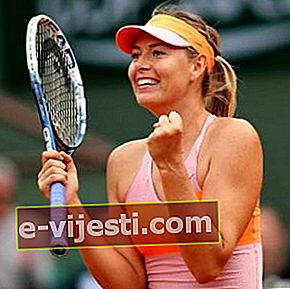 Maria Sharapova: Biyo, Boy, Kilo, Ölçümler