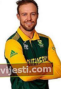 AB de Villiers: Bio, Tinggi, Berat, Usia, Pengukuran