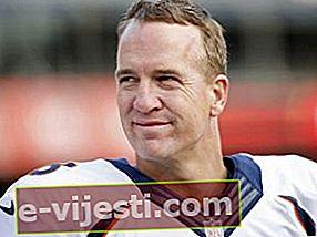 Peyton Manning: Bio, Tinggi, Berat, Ukuran